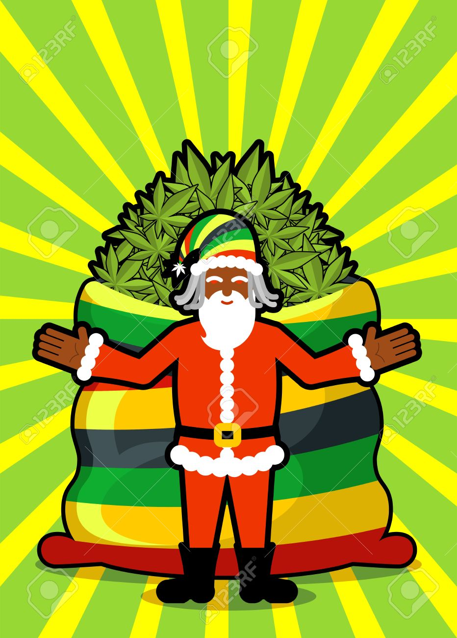 Babbo natale weed