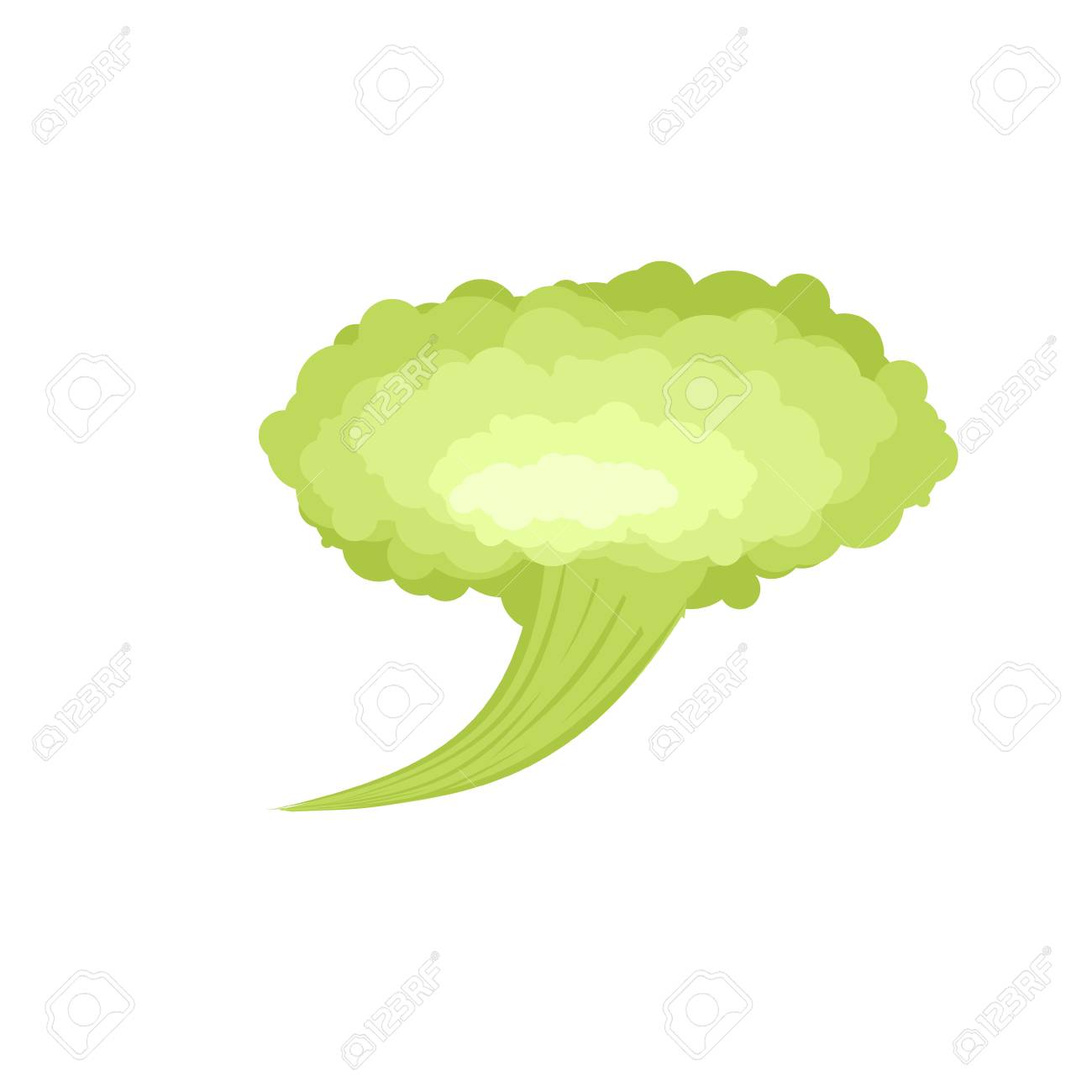 Cartoon Fart Cloud