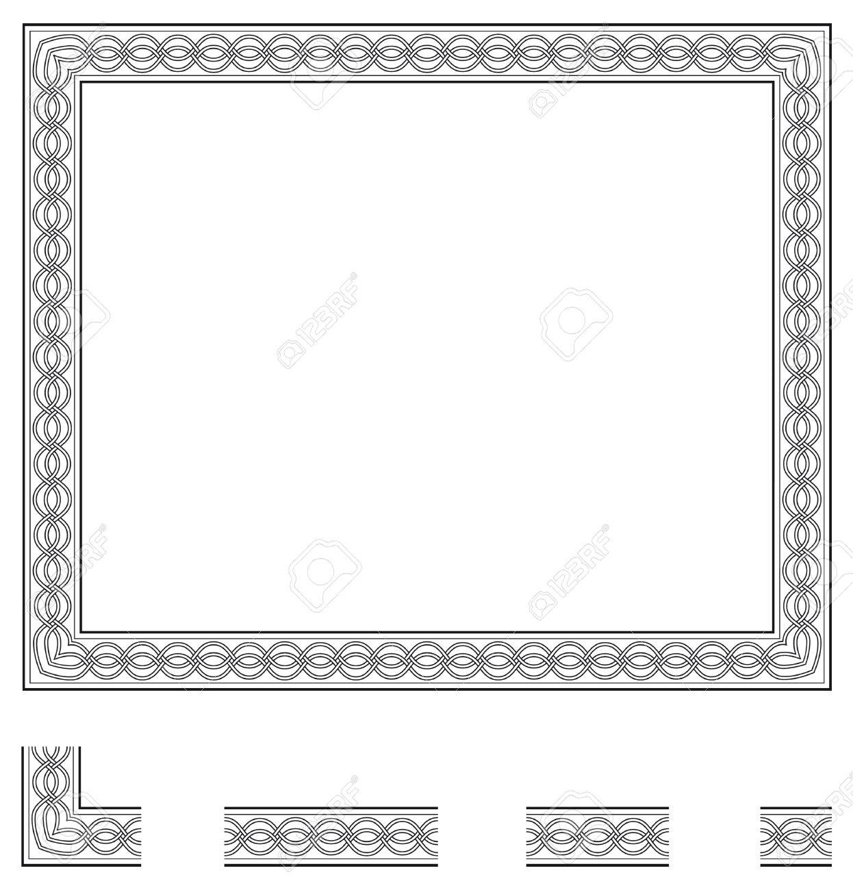 Vector frame and modular elements to create others at any size vector frame and modular elements to create others at any size stock photo 28418968 jeuxipadfo Choice Image