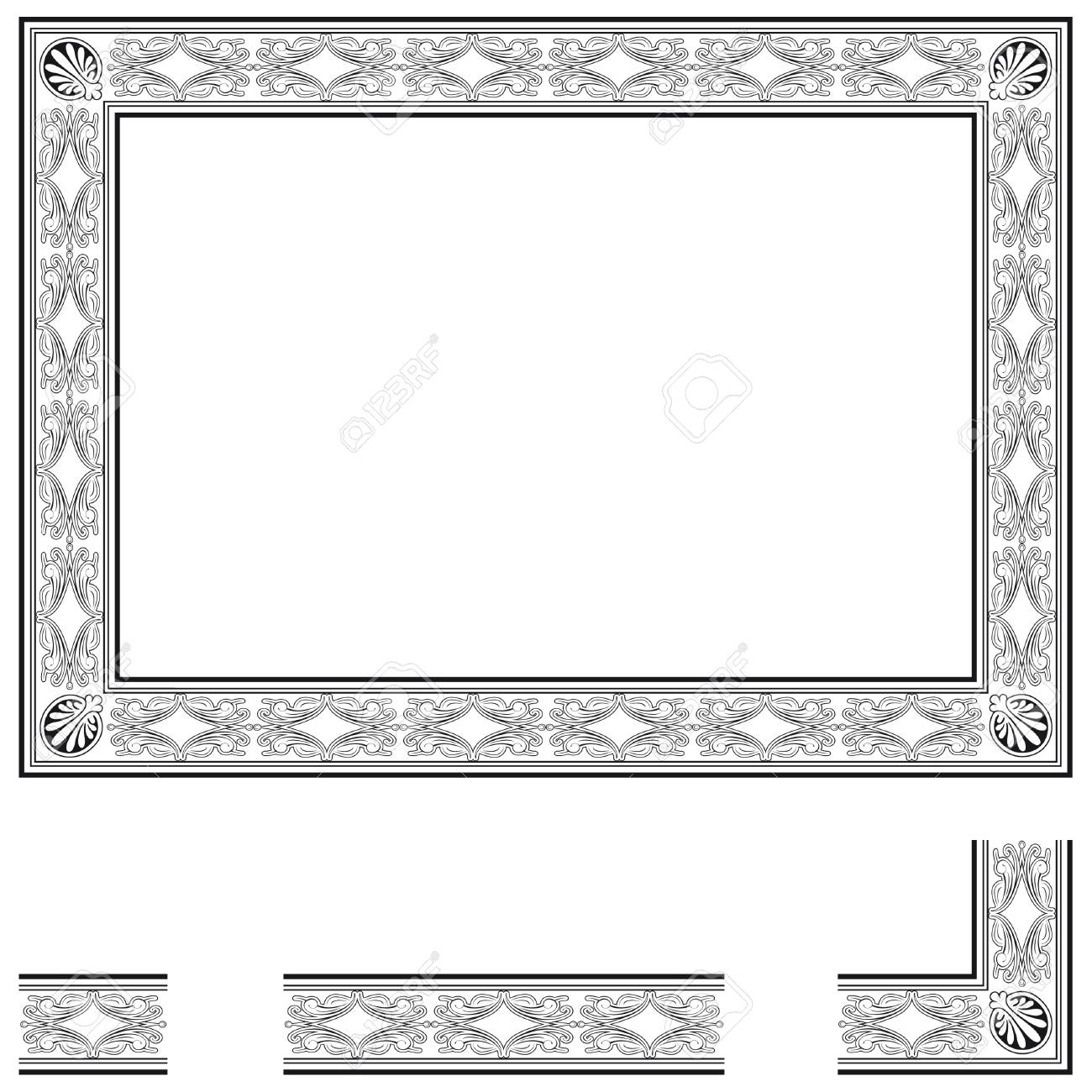 Frame and modular elements to create others at any size stock frame and modular elements to create others at any size stock photo 29138966 jeuxipadfo Choice Image