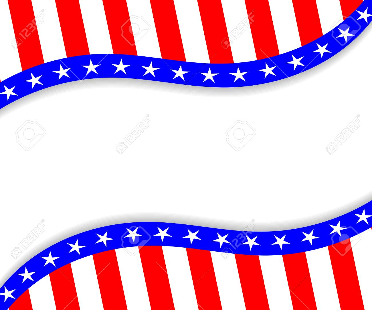 4th of july vector background template for 4th of july 4th