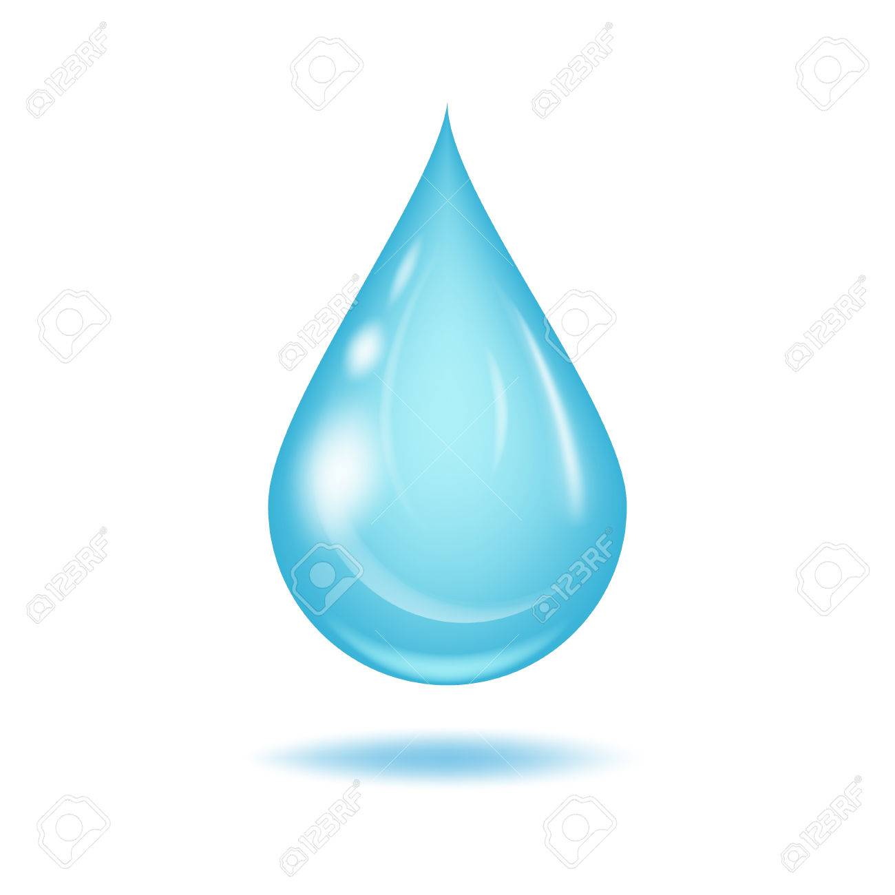 water drop vector illustration clean water drop isolated on rh 123rf com vector water droplet free vector water droplet