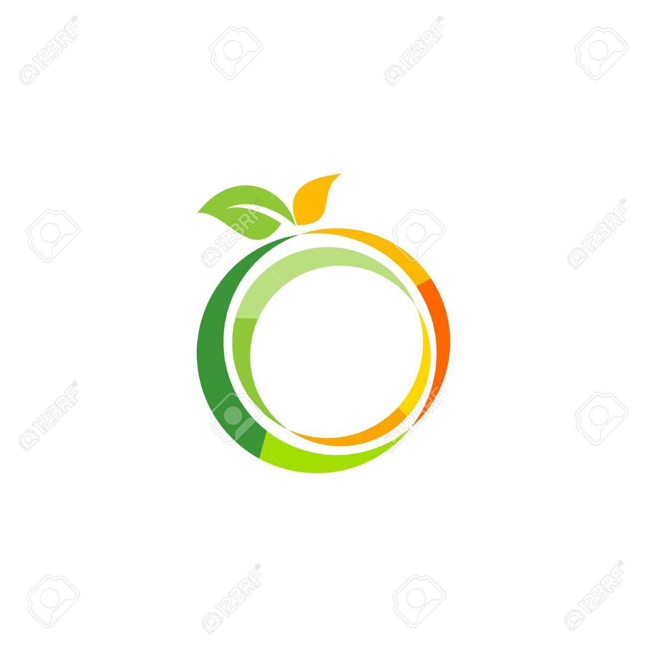 Abbildung Frische Frucht Logo Vorlage, Zitrone Gesundheit Symbol ...