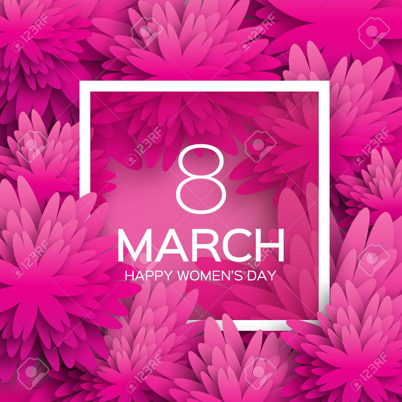 Abstract pink floral greeting card international happy womens abstract pink floral greeting card international happy womens day 8 march holiday background with m4hsunfo