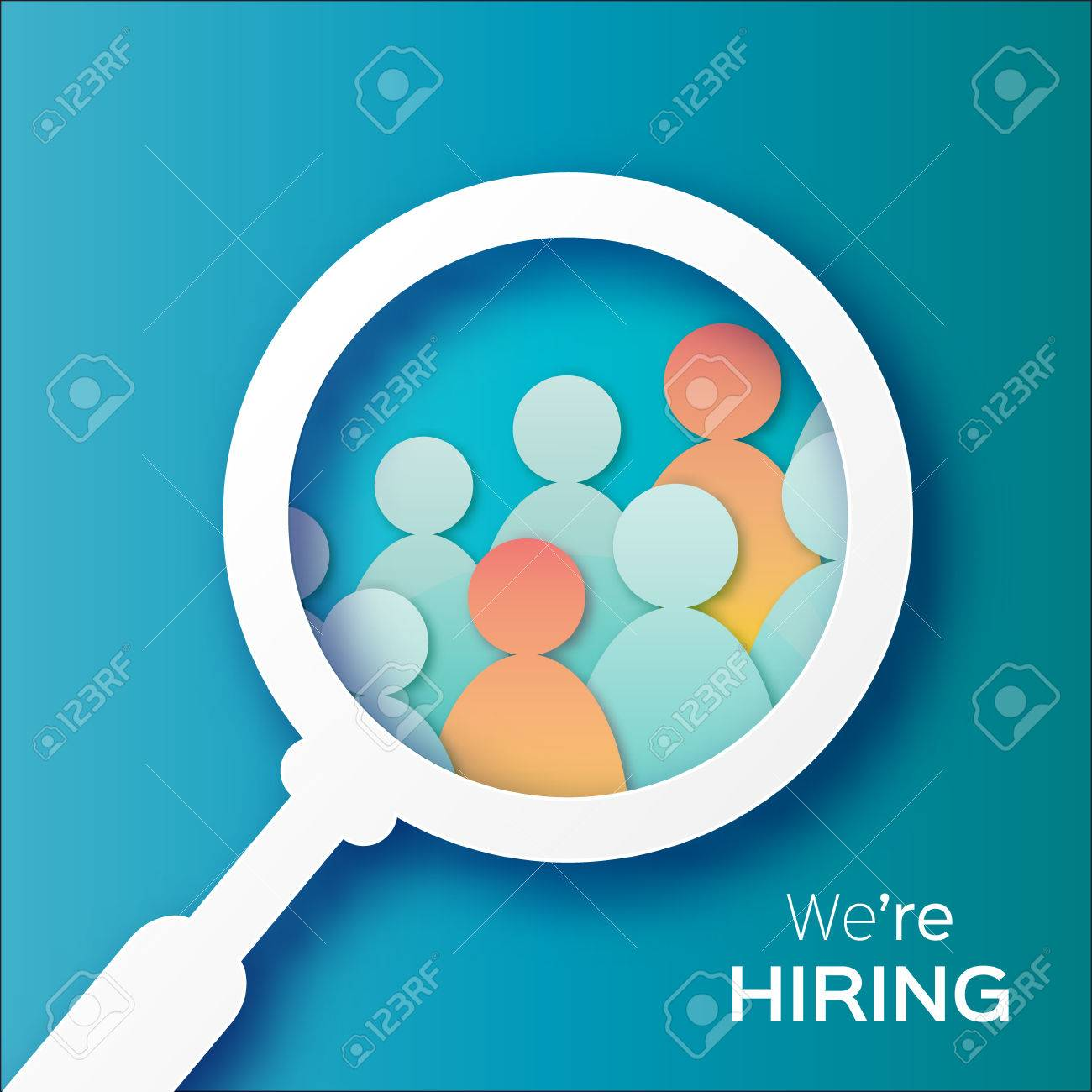 Choosing the talented person for hiring. HR job seeking concepts. The choice of the best suited employee - 55944150
