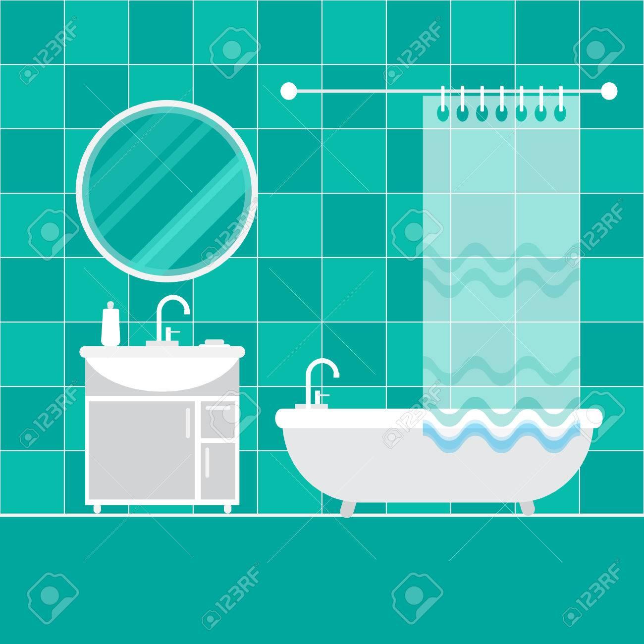 badezimmer unter. möbel. startseite inter objekte - bad, spiegel, Hause ideen