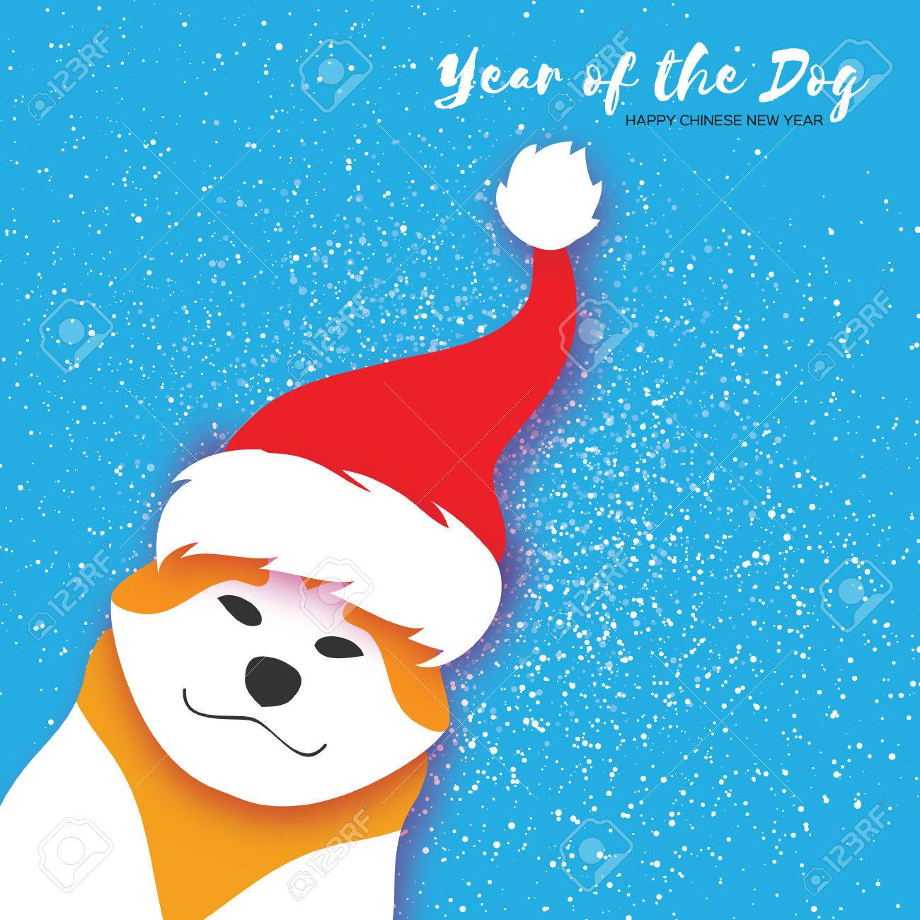 2018 chinese year of the dog happy chinese new year greeting 2018 chinese year of the dog happy chinese new year greeting card paper cut kristyandbryce Images