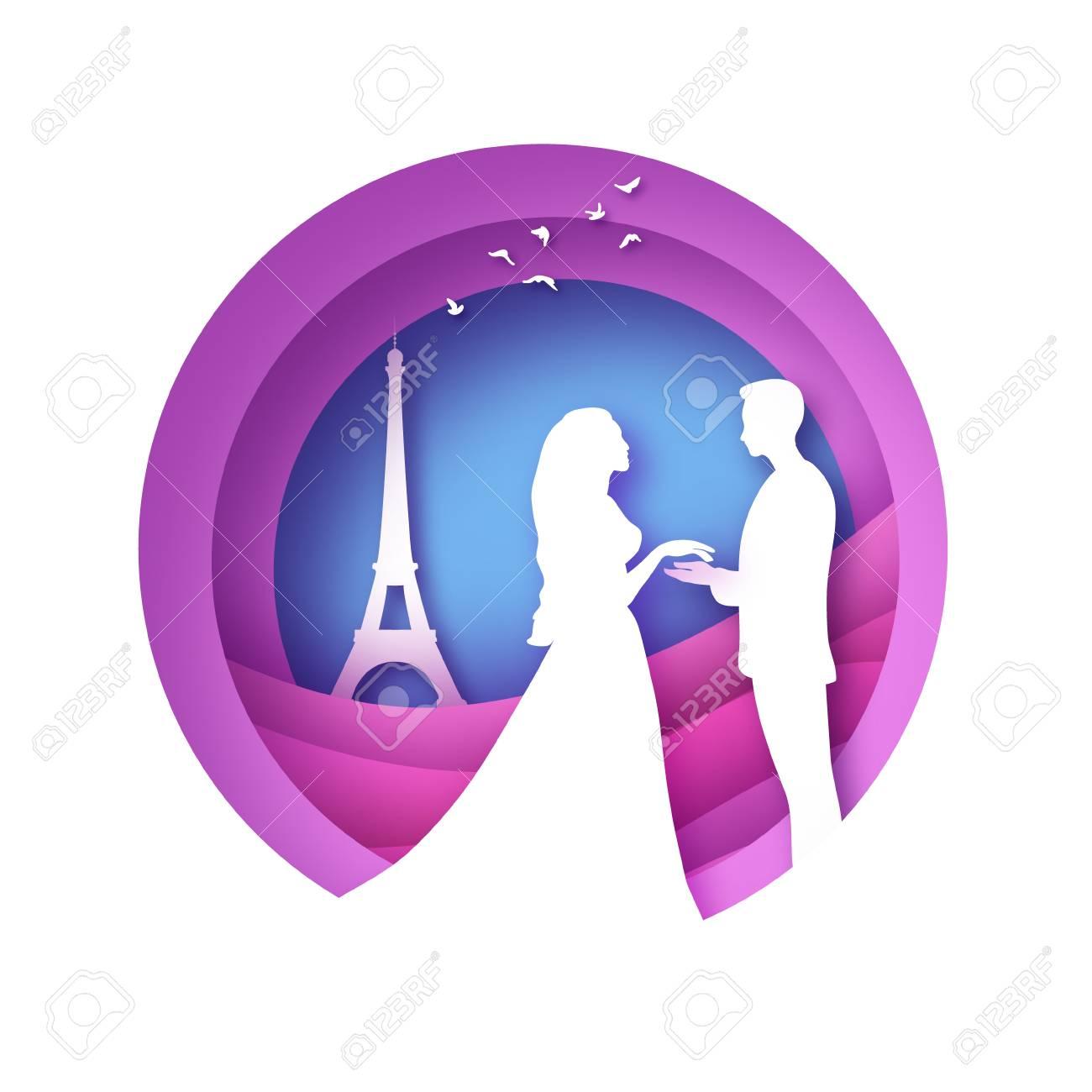 Origamic Architecture, Eiffel Tower, Paris | Pliage | 1300x1300
