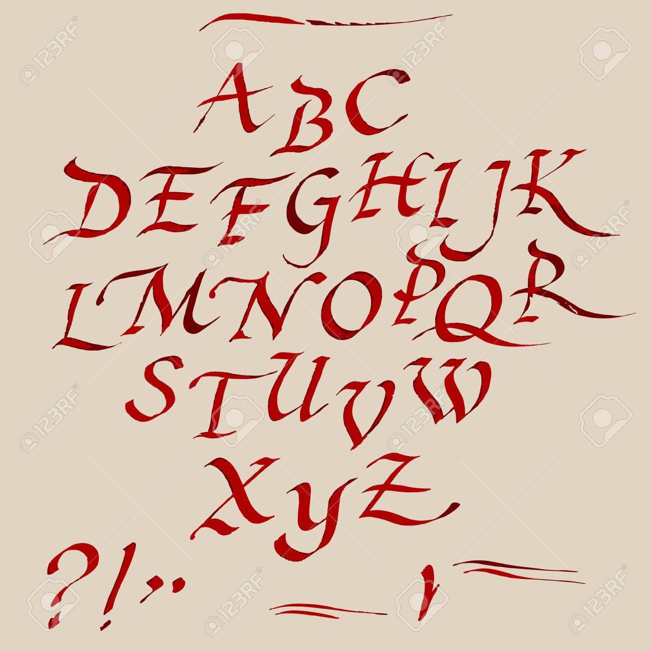 Calligraphy Capital L