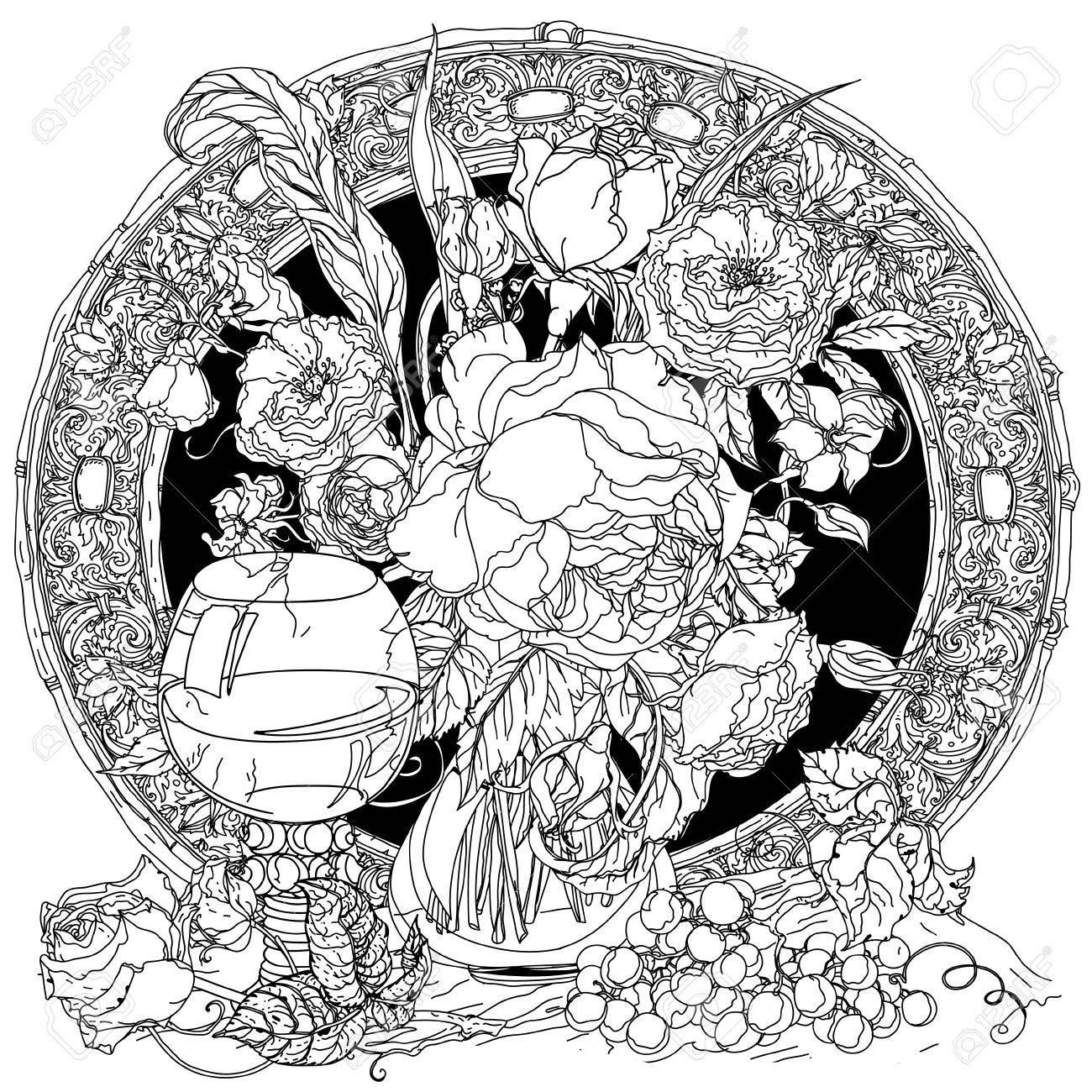 Artísticas Rosas Incoloro Lujo, Cristal De La Vendimia, Racimo De ...