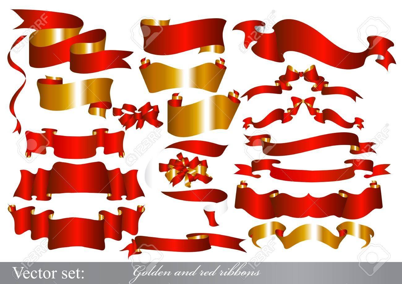 Ribbons set for design Stock Vector - 15426207
