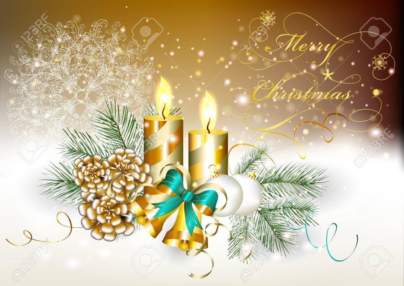 elegante tarjeta de navidad navidad vector foto de archivo