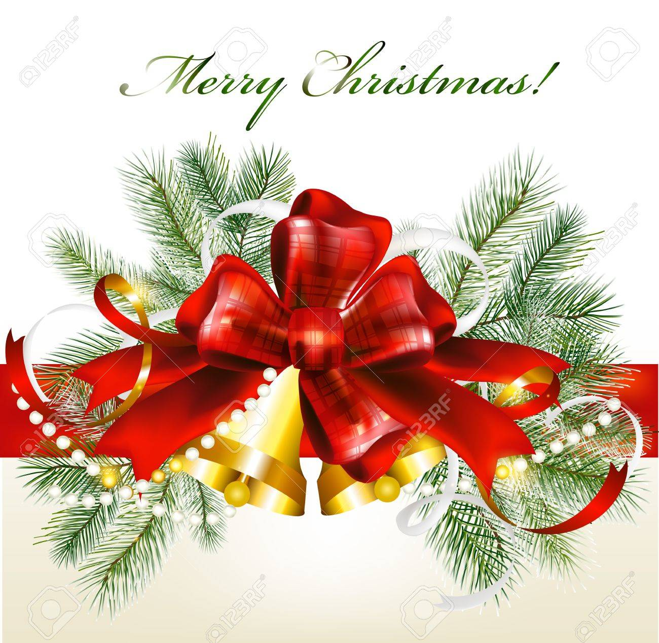 Christmas card with gifts  Christmas vector Stock Vector - 16393799