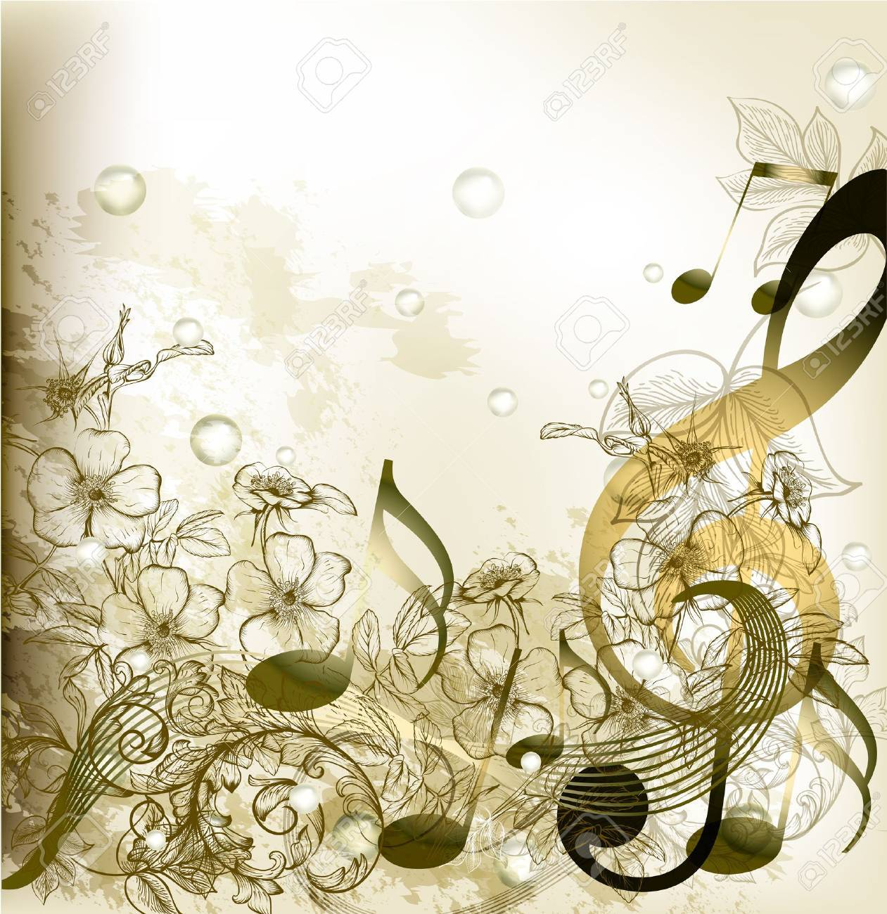 music conceptual background Stock Vector - 17775177