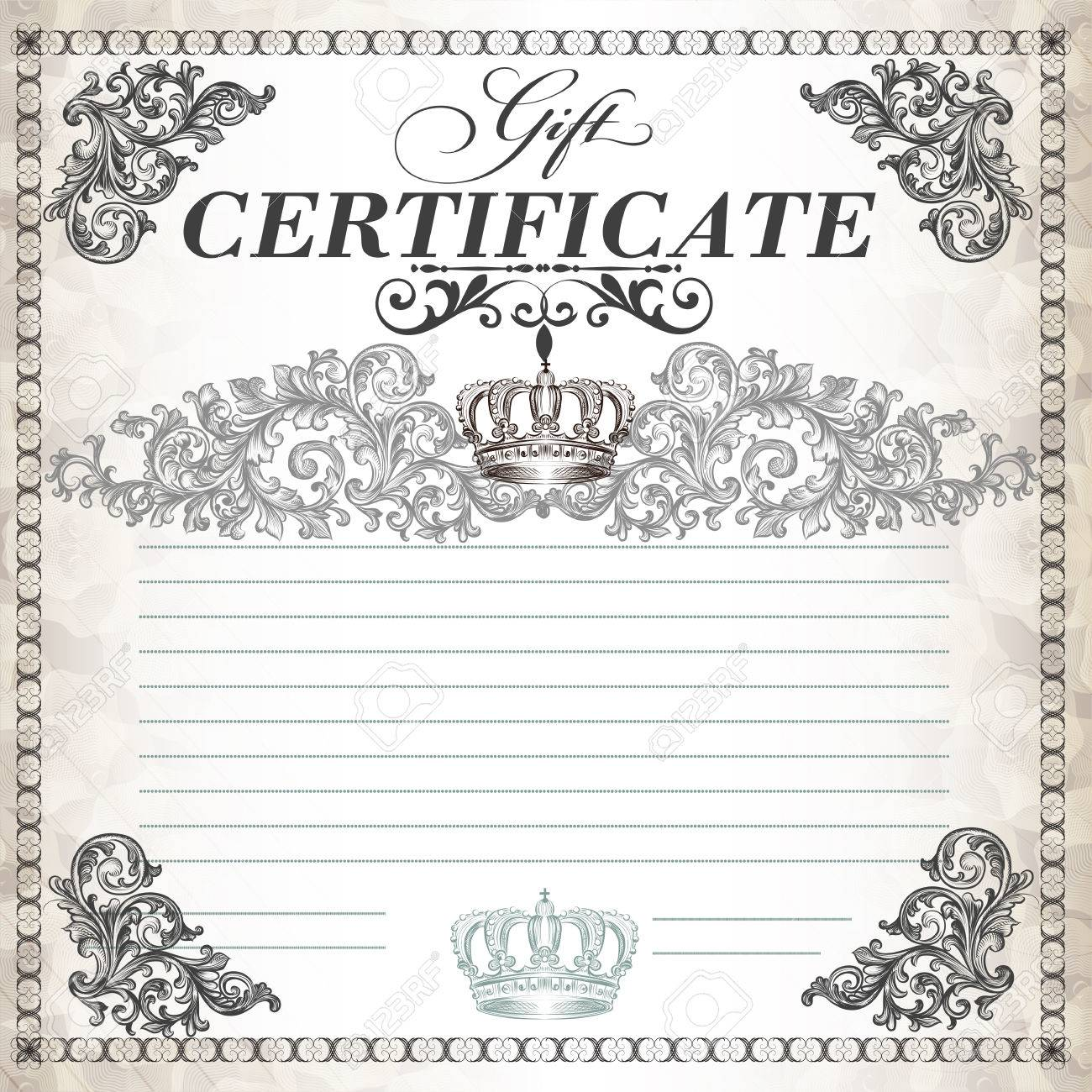 Certificate or coupon for document design  Certificate vector collection Stock Vector - 24752031
