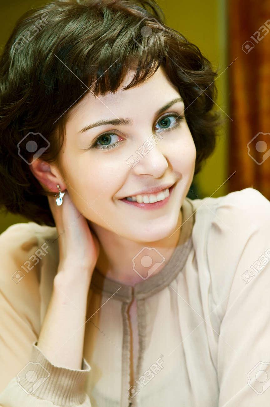 Beautiful Woman smile Stock Photo - 4464374