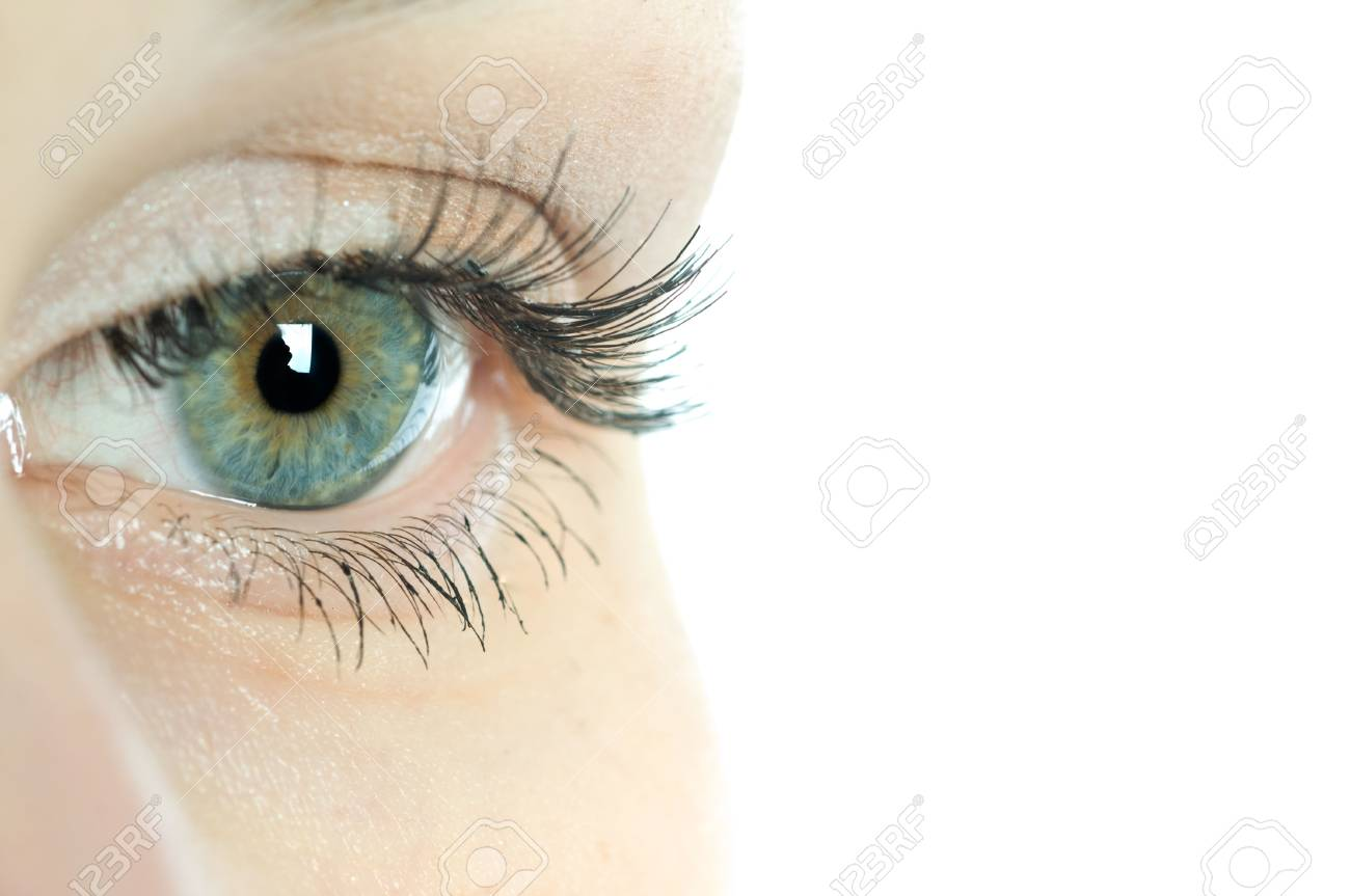 macro beautiful female eye Stock Photo - 4908879