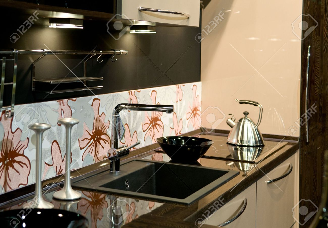 Design of classical modern kitchen Stock Photo - 5374951