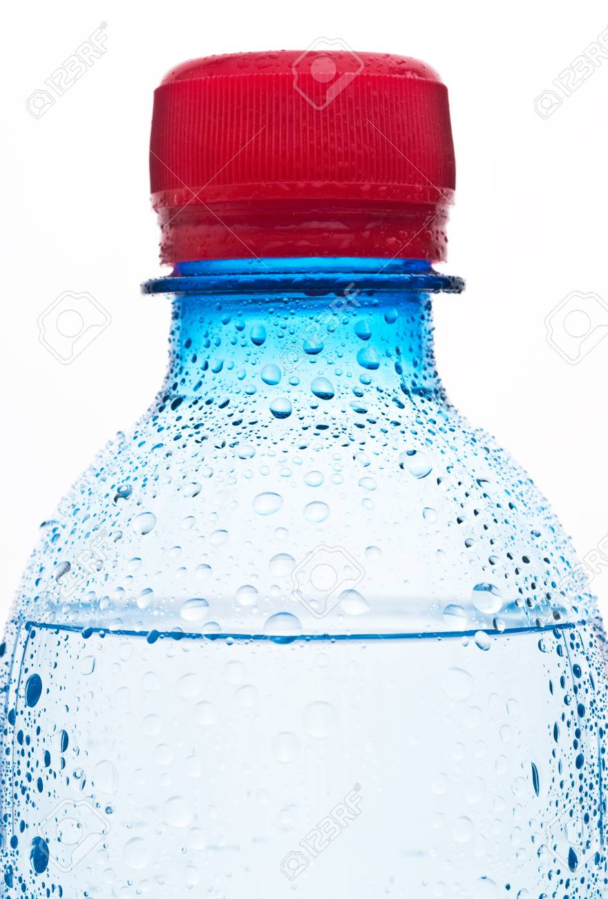 Bottles of water isolated on the white Stock Photo - 8598546