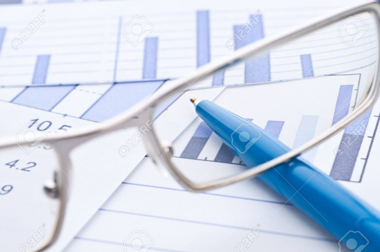Business background, financial data concept Stock Photo - 10835046