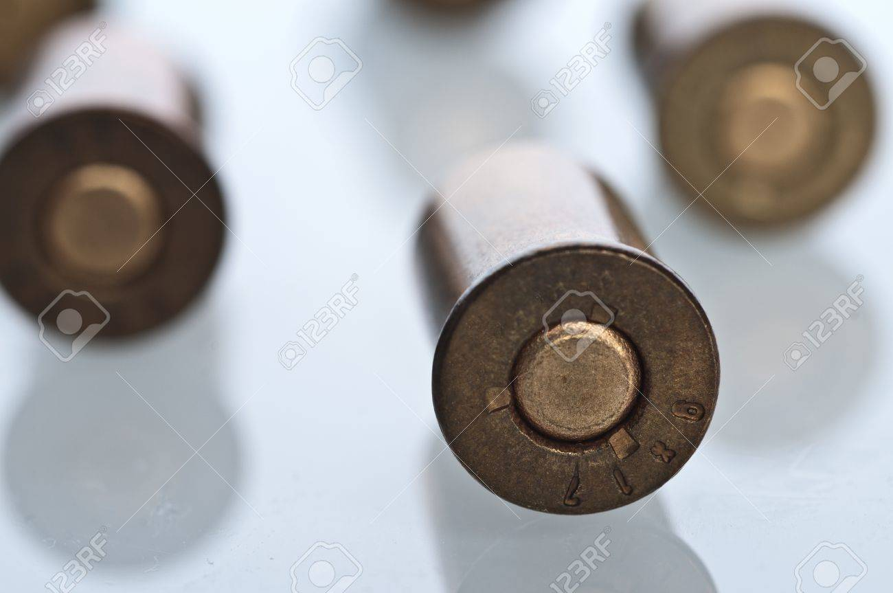 Set of bullets Stock Photo - 12885840