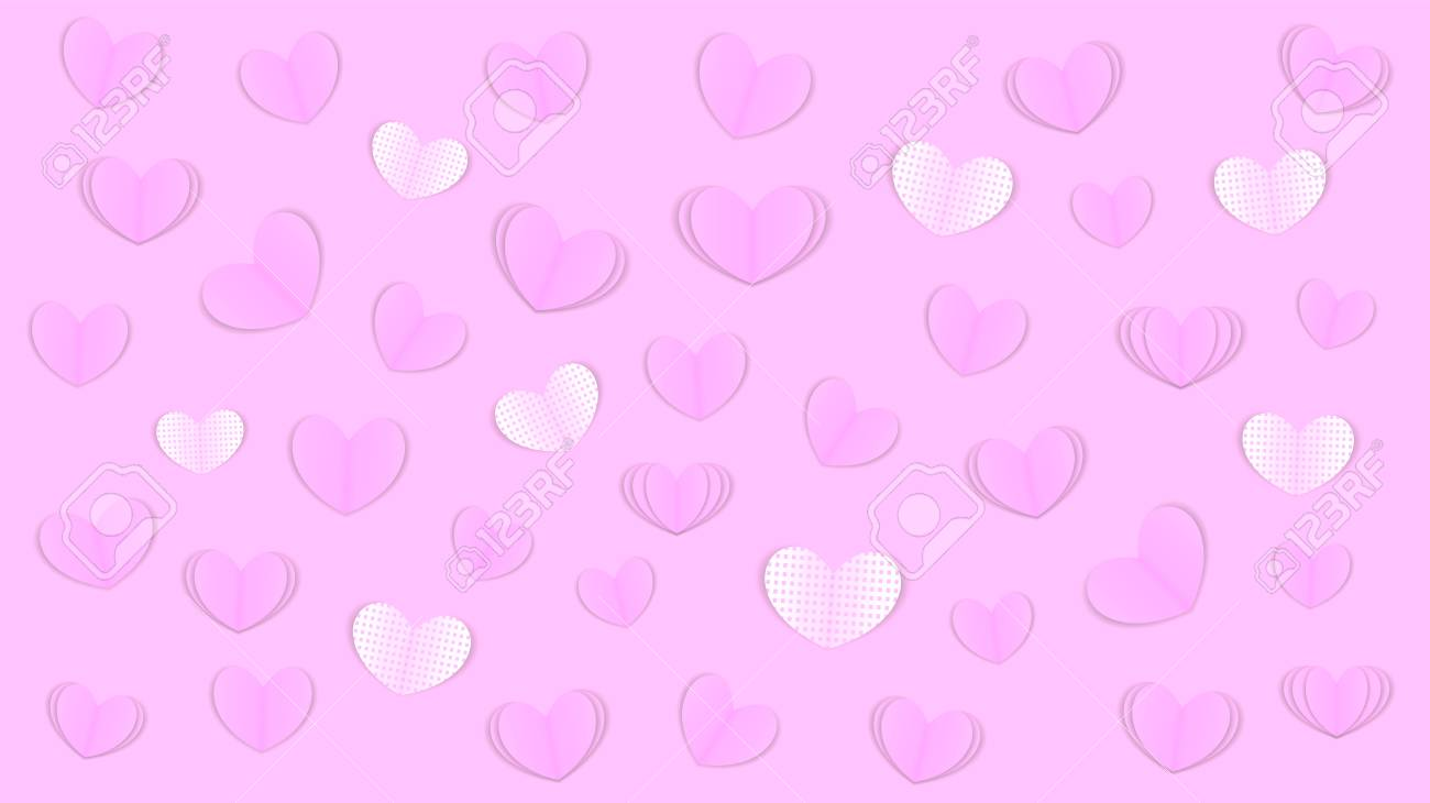 Valentines Day Love Background Greeting Card Or Invitation