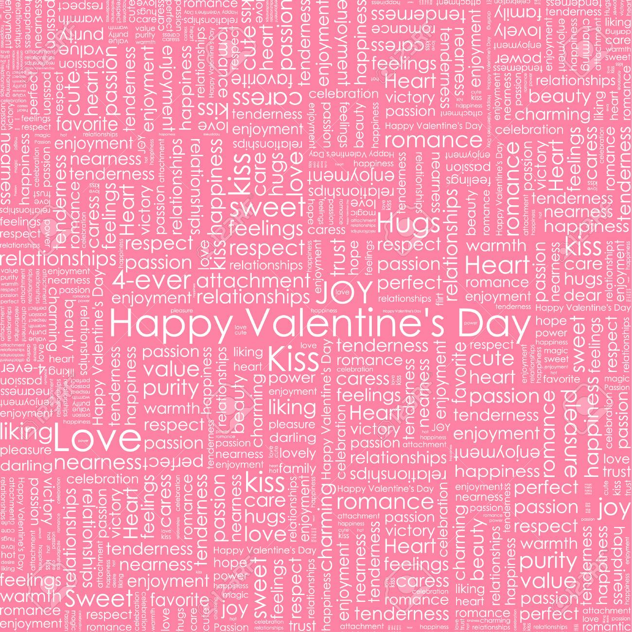 Valentines Day Love Background Greeting Card Or Invitation Templates