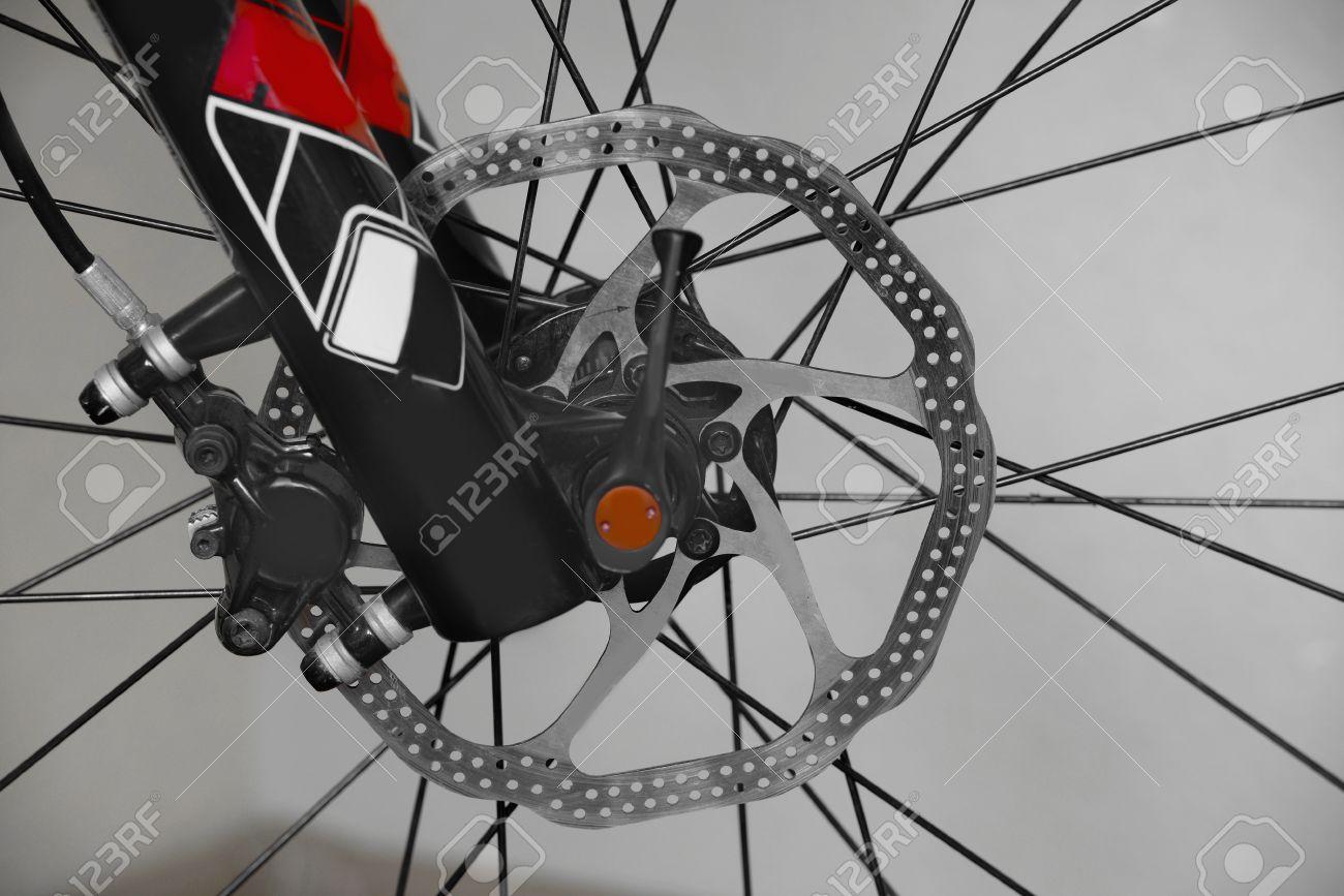 Bike Parts Shock Absorber Front Wheel Mountain Biking Disc