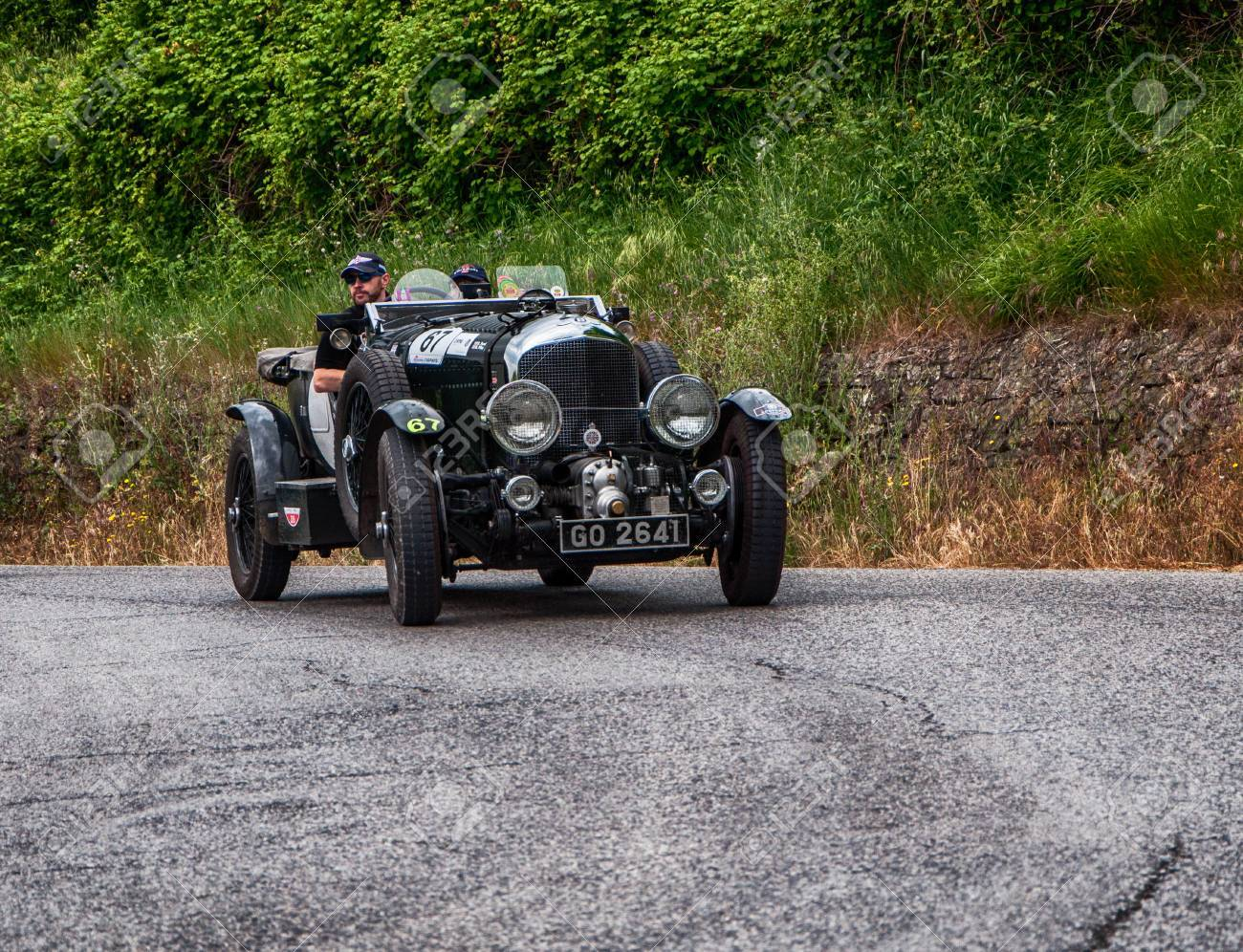 PESARO, ITALY - MAY 15: BENTLEY 4 5 Litre Supercharged 1930 old
