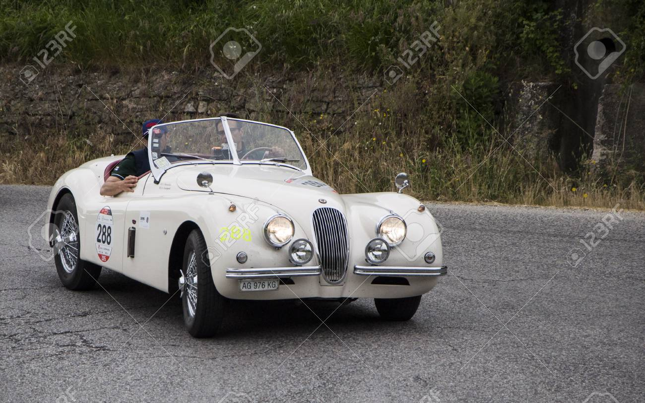 Jaguar Xk 120 Ots Roadster 1953 Stock Photo Picture And Royalty For Sale 64954867