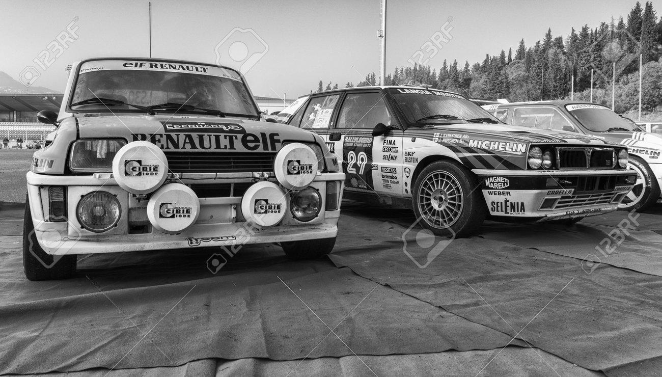 Sanmarino Sanmarino Oct 21 2017 Renault 5 Gt Turbo 1982 Stock Photo Picture And Royalty Free Image Image 101775028