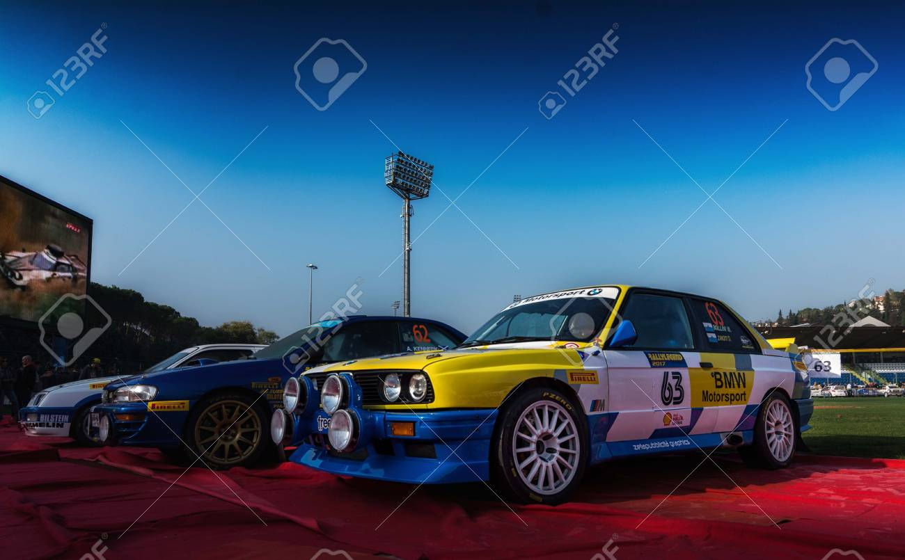 Bmw M3 E30 1988 Old Racing Car Rally The Legend 2017 The Famous