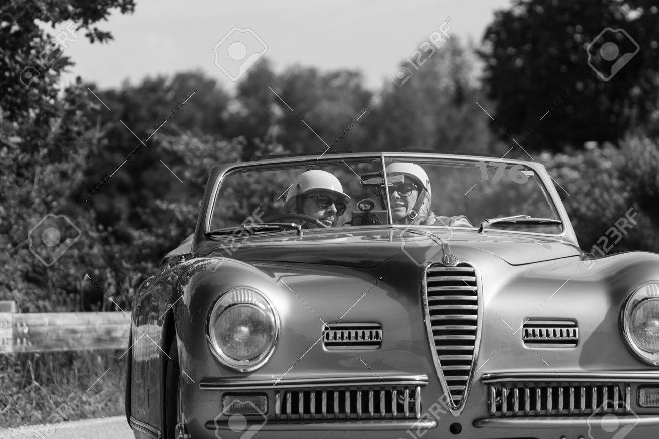 Alfa Romeo 6c >> Pesaro Colle San Bartolo Italy May 17 2018 Alfa Romeo