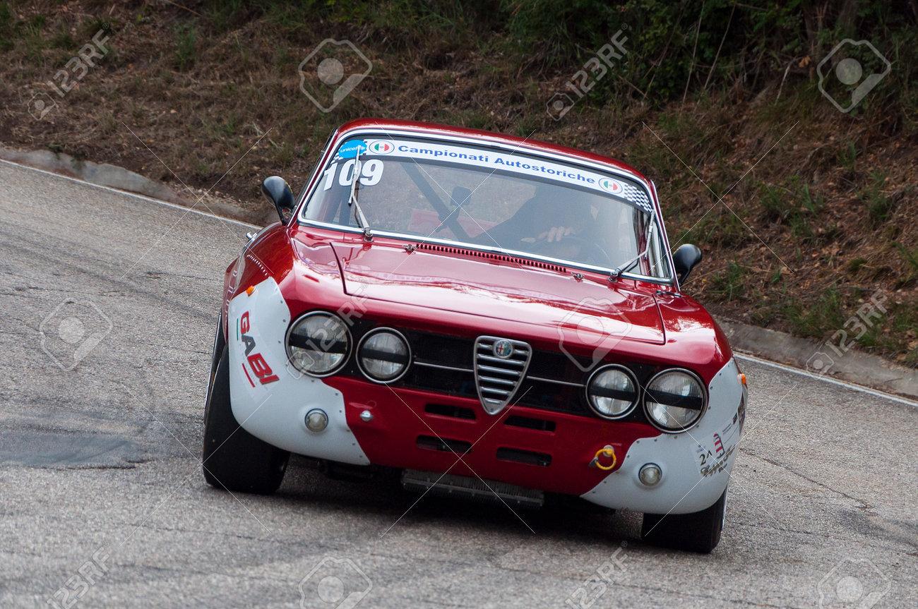 Pesaro Colle San Bartolo Italy Oct 12 2019 Alfa Romeo Gtam Stock Photo Picture And Royalty Free Image Image 142788891