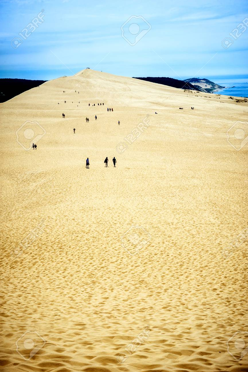 Dune Of Pilat Dune Du Pyla The Tallest Sand Dunes In Europe