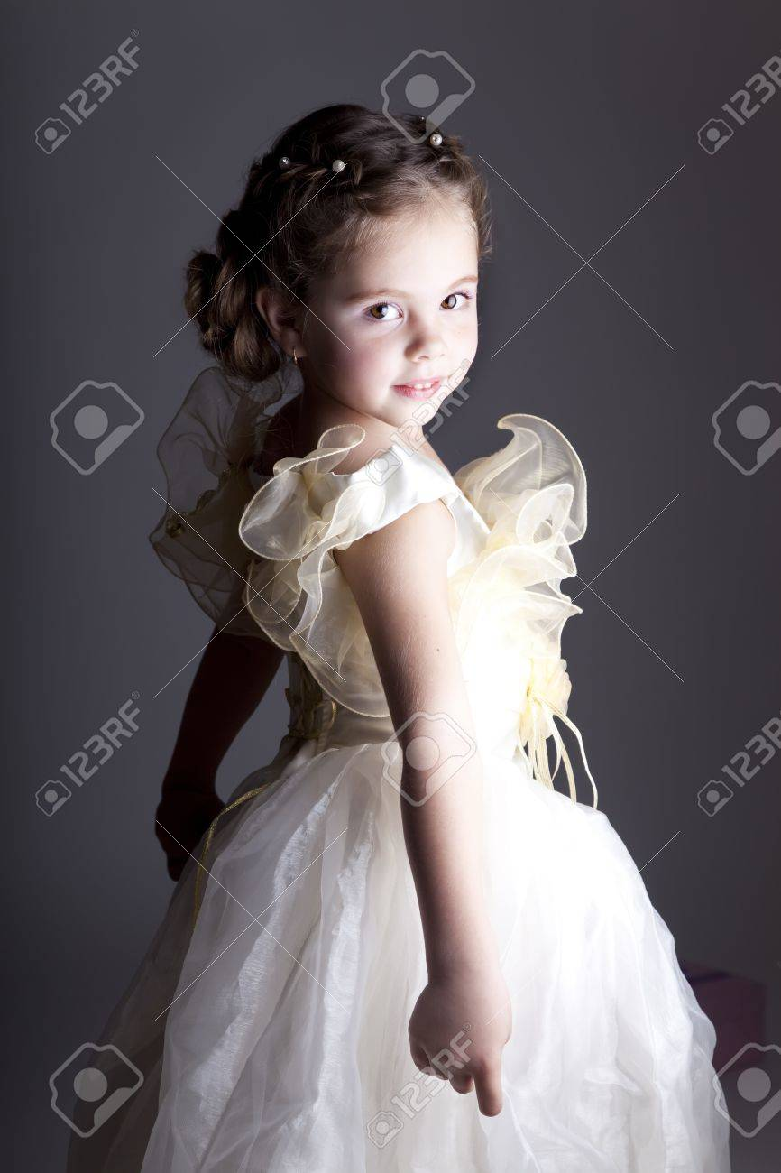 Portrait of cute little girl Stock Photo - 11410422