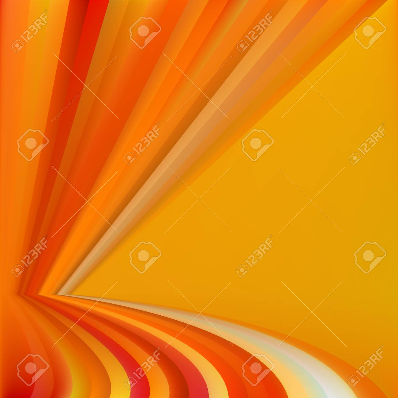 Colorful Autumn Abstract Background - Vector Illustration With Gradient Mash Stock Vector - 22606682