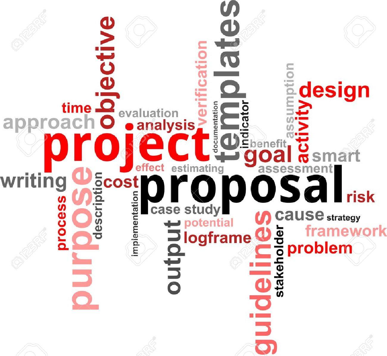 Ein Wort Wolke Projektvorschlag Zugehörige Artikel Lizenzfrei ...