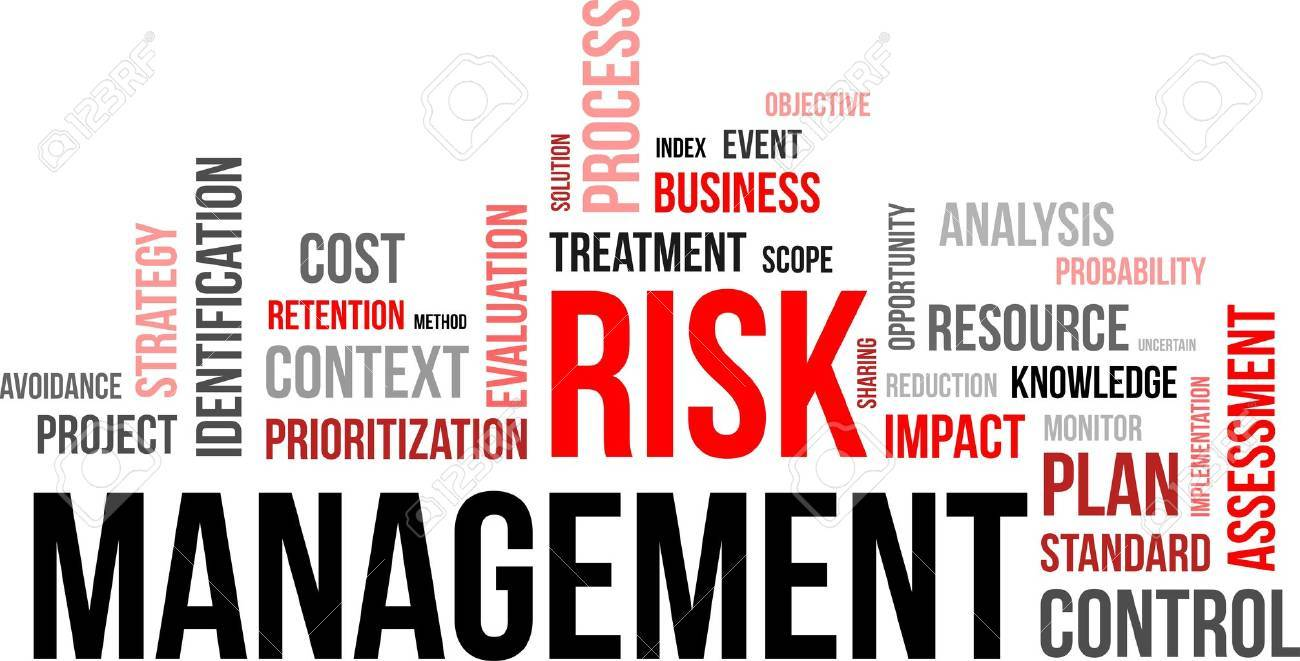 A word cloud of risk management related items Stock Vector - 21606825
