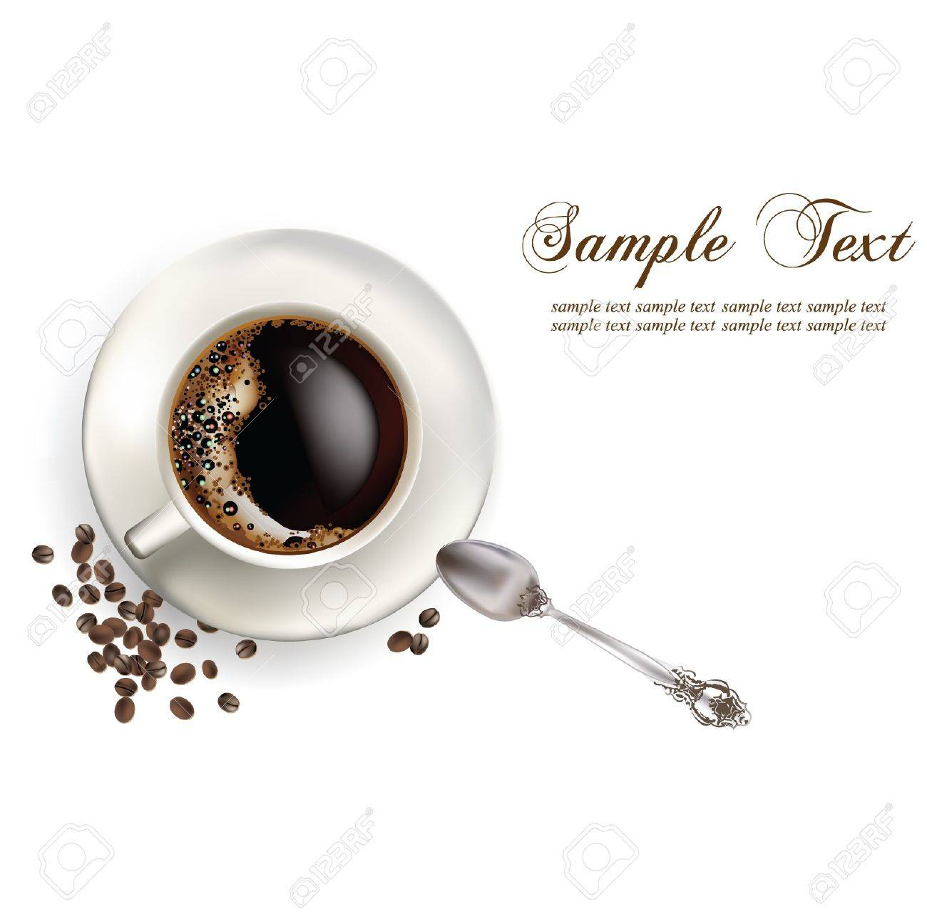 coffee in the cup Stock Vector - 10886445