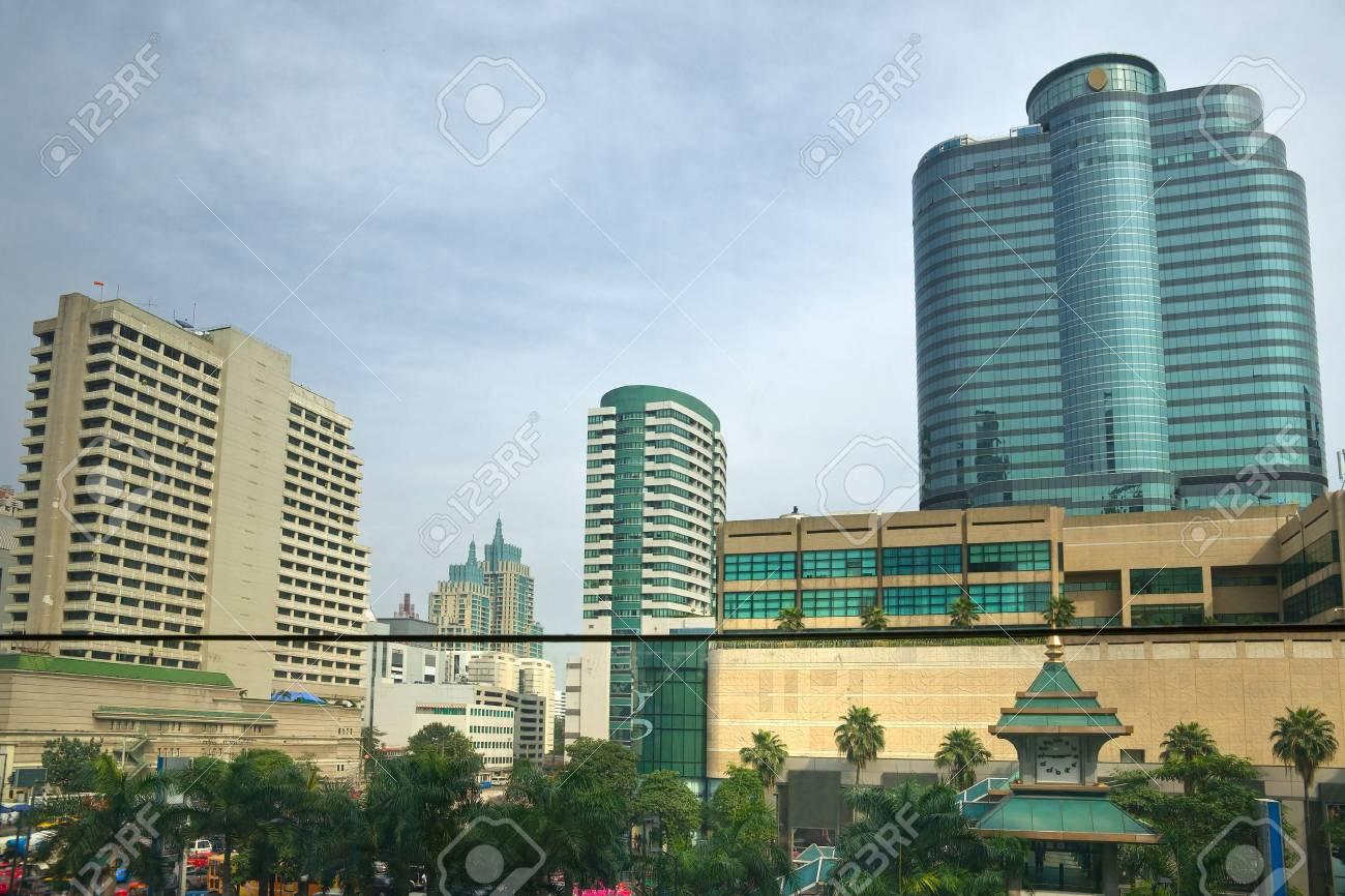 Bangkok skyline, Thailand Stock Photo - 17243092
