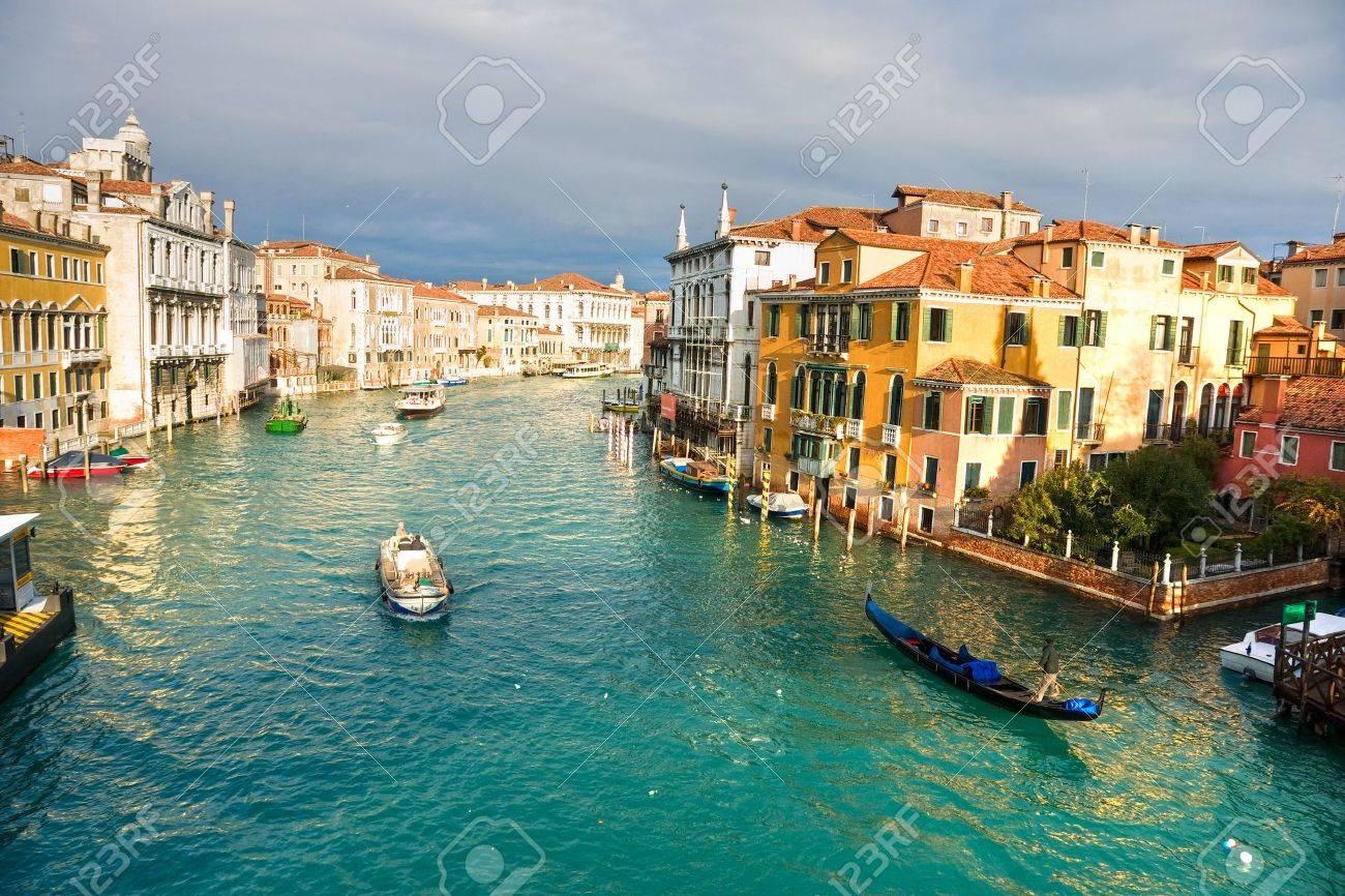 Venice, View from Rialto Bridge. Italy. Stock Photo - 9076773
