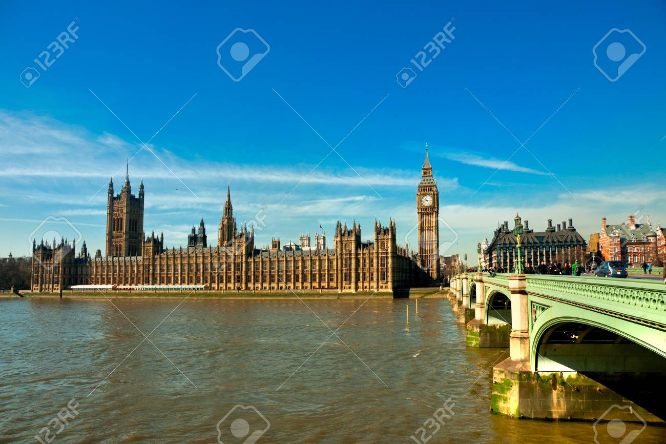 The Big ben and the Houses of parliament, London, UK  Stock Photo - 16628573
