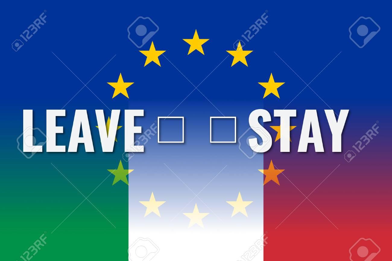 Itexit、ヨーロッパ連合、イタリ...