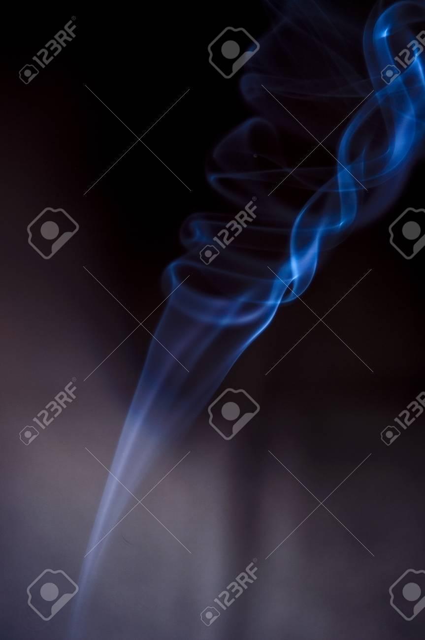 An image of smoke on black background Stock Photo - 18292412