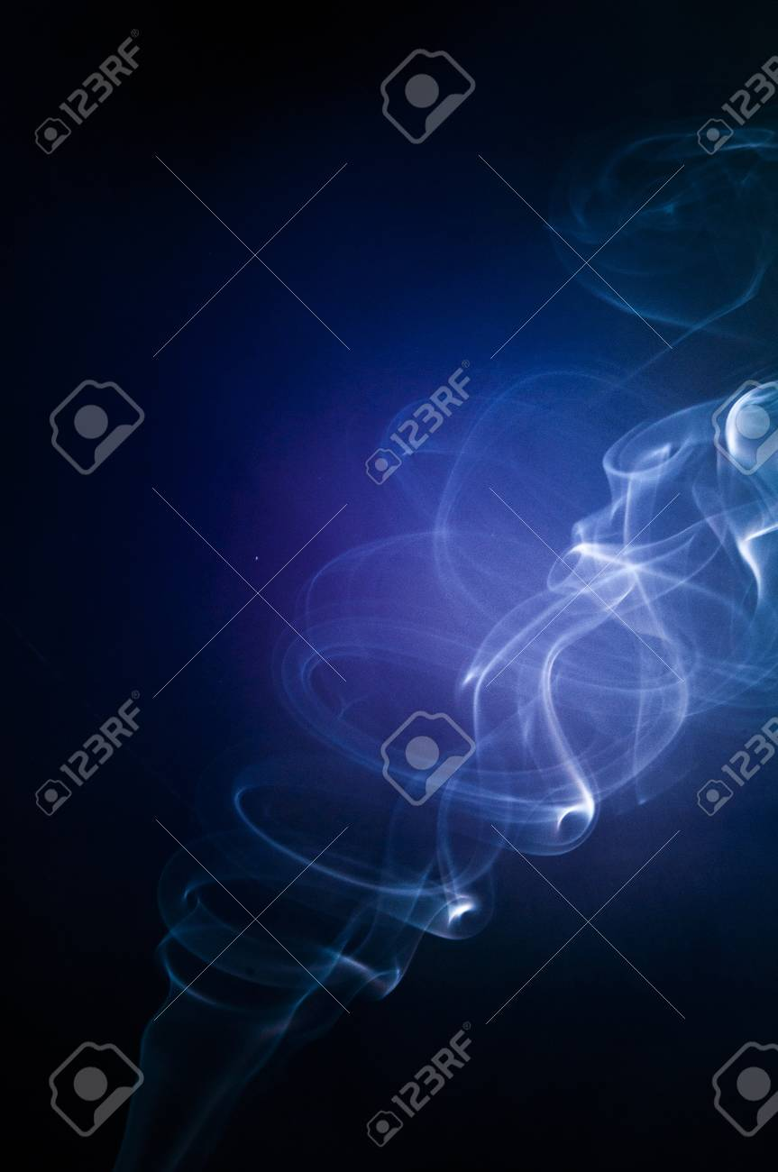An image of smoke on black background Stock Photo - 18292442