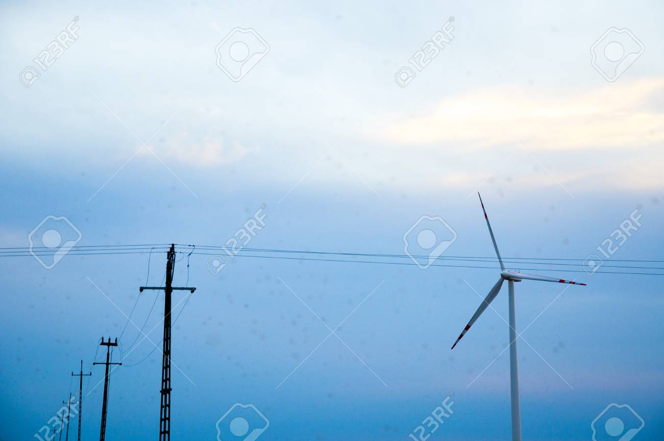 an image of tower of high voltage line Stock Photo - 22305942