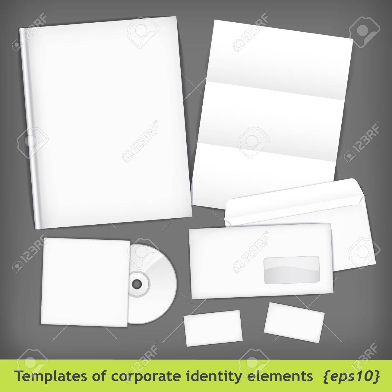 Set of templates corporate identity - 12490658