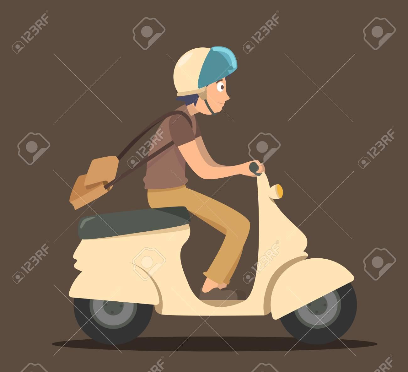 Boy ride scooter - 61815303