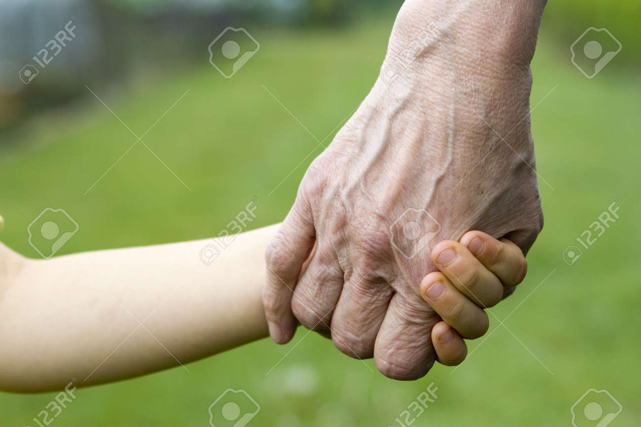 Young and old hands Stock Photo - 668602